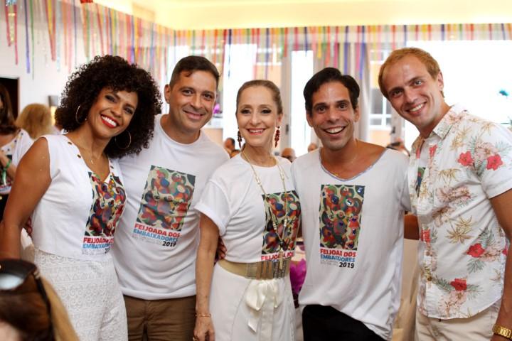 Os Embaixadores de Turismo do Rio de Janeiro armam feijoada no Sofitel Ipanema