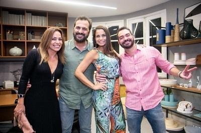 Marcelo Dadoorian e Sérgio Teixeira armam grande coquetel com arquitetos vips em Ipanema na EKKO HOME