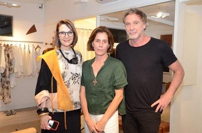 """Toia Lemann recebe convidadas e apresenta sua coleção """"Oriente"""" na Anna Vic"""