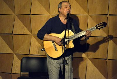 """Show """"Toquinho e violão"""" na Sala Charles no hotel Emiliano no Rio de Janeiro"""