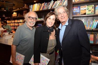 """O lançamento do livro """"MMM Roberto"""" na Travessa do Shopping Leblon"""