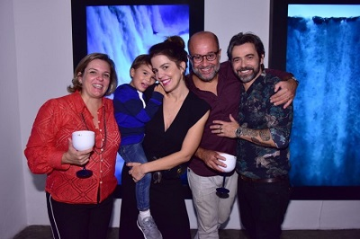 Alexandre Mazza apresenta seus novos trabalho em noite de sucesso na Luciana Caravello Arte Contemporânea