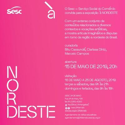 Sesc 24 de Maio abre exposição que reúne a partir da produção artística, imaginários e disputas em torno do Nordeste