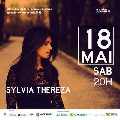 Sylvia Thereza lança seu novo CD em concerto único no Rio na Sala Cecília Meireles