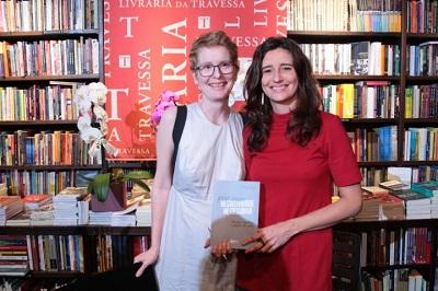 """Marianna Tamborindeguy e Monah Winograd lançam o livro """"Por uma negatividade necessária: trauma, repetição e pulsão de morte"""" na Travessa de Ipanema"""