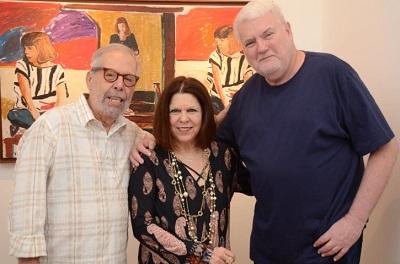 """Os desenhos de John Nicholson e as fotos de Vanda Klabin na expo """"Duo"""" na Casa de Cultura Laura Alvin"""