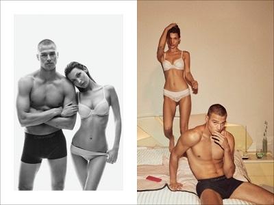 Naomi Campbell é a estrela da campanha Calvin Klein Underwear