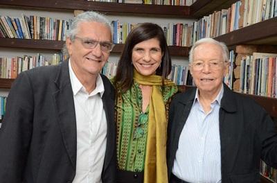 Gisela Zincone comemora com sarau os 25 anos da editora Gryphus