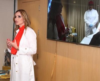 Gabriela Dwson lança a Clinica Bio Aesthetic no Vip Lounge do Village Mall