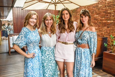 Bruna Marcolini lança sua marca de roupas femininas com kick-off no Hotel Fasano