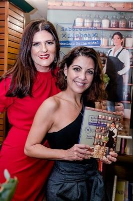"""Chef Mariana Vidal lota Livraria Argumento com lançamento do livro """"Saboreando Lisboa"""""""