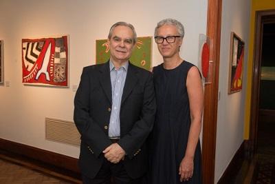 """Pinakotheke Cultural abre a exposição """"Leonilson por Antonio Dias – Perfil de uma coleção"""" com coquetel chique"""