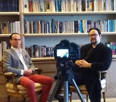 Pedro Henrique de Sousa entra na onda do You Tube e começa a gravar entrevistas para o canal ArteTudo