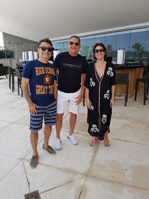 A feijoada do Hotel Nacional Rio começa em grande estilo misturando negócios e cultura