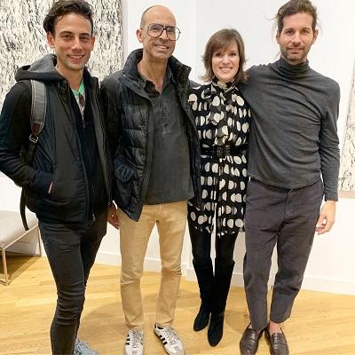 Lucio Salvatore abre expo Black Square na Space Gallery em Nova York