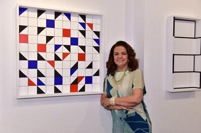 A abertura da expo de Roma Drummond na Galeria Patricia Costa no Shopping Cassino Atlântico