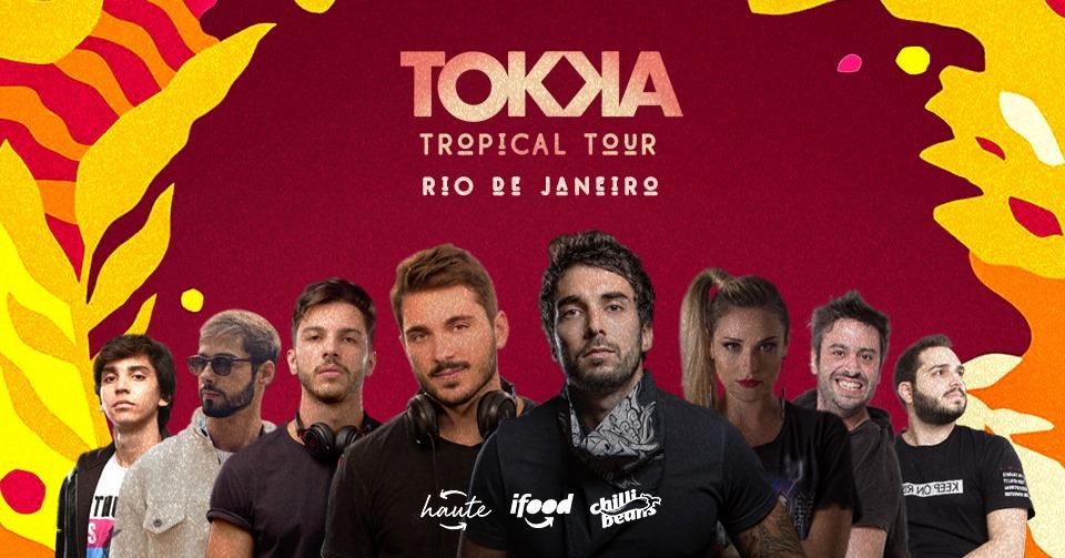 Tokka estreia no Rio de Janeiro em clima de pré-réveillon