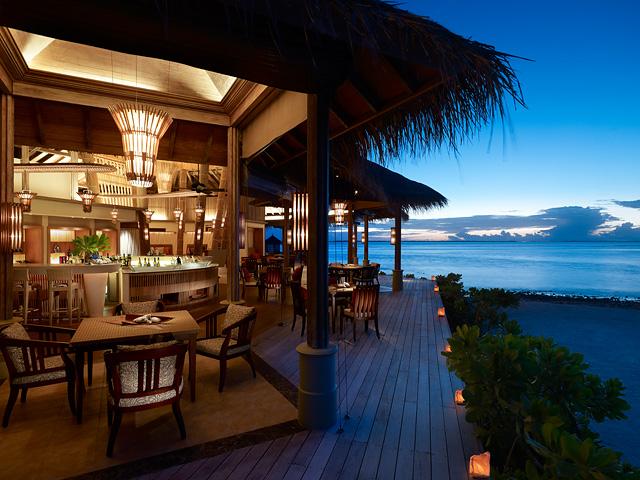 Uma festa da natureza para o final de ano no Shangri-La Maldivas