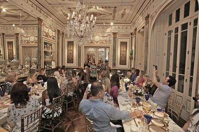 Chá de Natal com presentes Jo Malone London na casa da Julieta de Serpa no Flamengo