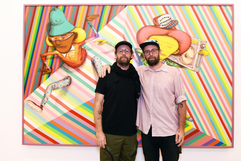 Rio de Janeiro recebe a exposição Julio Le Parc e Os Gêmeos