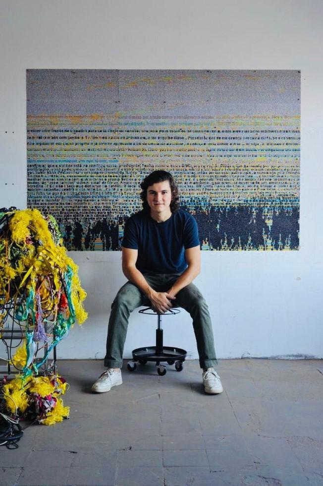 """Luiz d´Orey apresenta sua segunda individual """"Cascade"""" na Galeria Mercedes Viegas"""