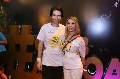 Liège Monteiro e Luiz Fernando Coutinho comandam o Camarote Arpoador by Universal Music na Marquês de Sapucaí