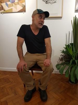 Gilvan Nunes de passagem pela redação do ZeRonaldo.com conta como está sua carreira