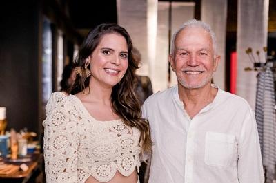 """Paloma Danemberg recebe para o lançamento da campanha """"Momentos que inspiram a vida e transformam histórias"""" no Shopping Leblon"""