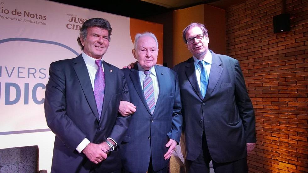 """O encontro """"Conversa com o Judiciário"""" leva a nata da justiça brasileira ao Fasano Rio"""