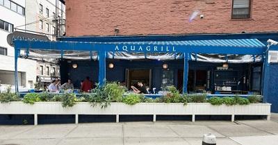 AquaGrill um dos destaques do Soho fecha as portas por conta da pandemia em NYC