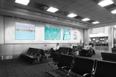 Maritza Caneca ocupa com suas fotos o Aeroporto Internacional de Miami