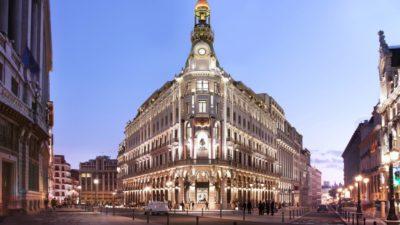 O novo Four Seasons Madrid é um show de bom gosto e luxo da hotelaria internacional